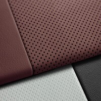 Valcona leather, Merlot Red